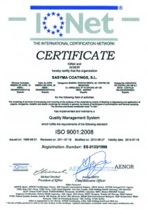 IQNET coatings
